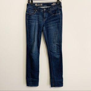 Madewell Blue Rail Straight Leg Jeans 26